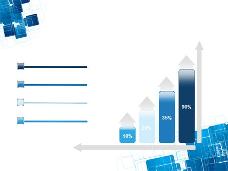 Blue and White Clean PowerPoint Template Slide 8