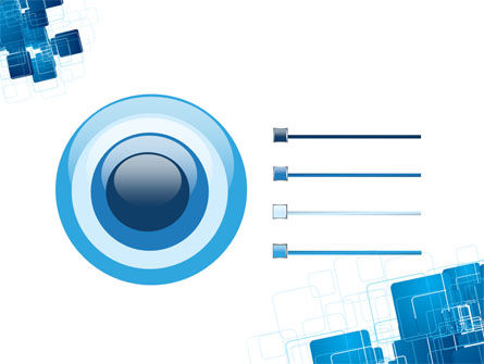 Blue and White Clean PowerPoint Template Slide 9