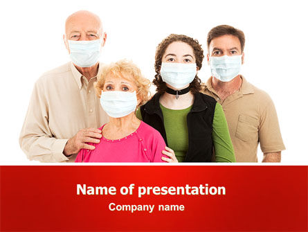 Epidemic Precautions PowerPoint Template, 06902, Medical — PoweredTemplate.com