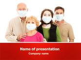 Medical: 流行预防措施PowerPoint模板 #06902