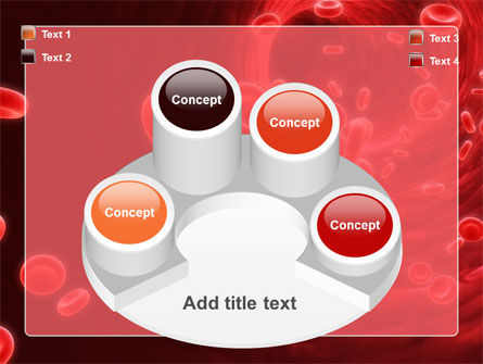 Blood Clot PowerPoint Template Slide 12