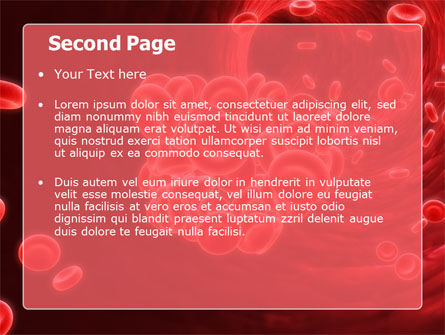 Blood Clot PowerPoint Template Slide 2