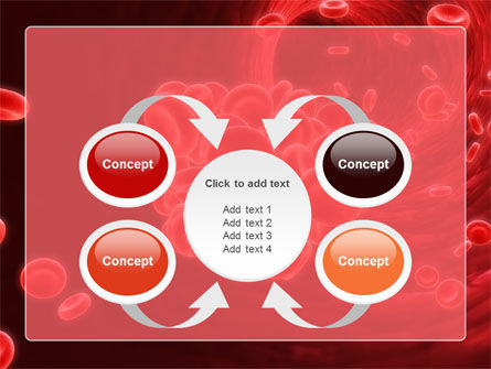 Blood Clot PowerPoint Template Slide 6