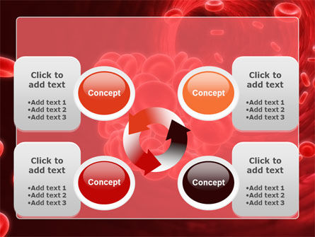 Blood Clot PowerPoint Template Slide 9