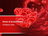 Medical: Blood Clot PowerPoint Template #06904