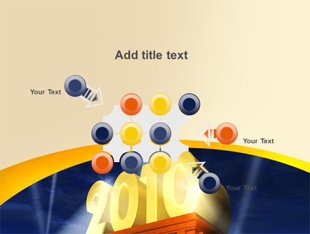 2010 yr PowerPoint Template Slide 10
