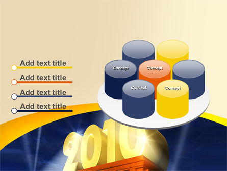 2010 yr PowerPoint Template Slide 12