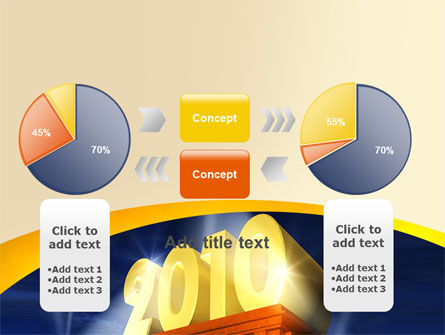 2010 yr PowerPoint Template Slide 16