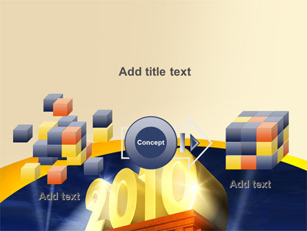2010 yr PowerPoint Template Slide 17