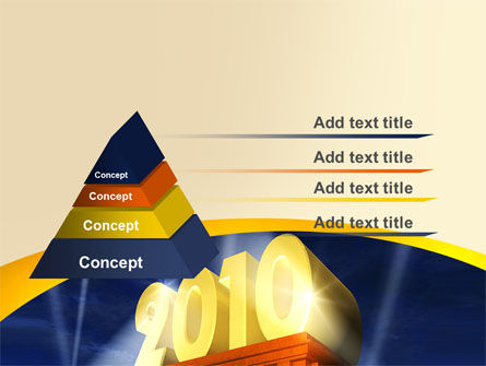 2010 yr PowerPoint Template, Slide 4, 06906, Holiday/Special Occasion — PoweredTemplate.com