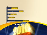 2010 yr PowerPoint Template#11