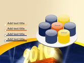 2010 yr PowerPoint Template#12