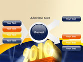 2010 yr PowerPoint Template#15