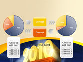 2010 yr PowerPoint Template#16