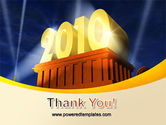 2010 yr PowerPoint Template#20