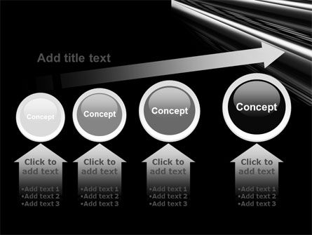 Black Steel PowerPoint Template Slide 13