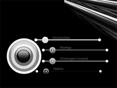 Black Steel PowerPoint Template Slide 3