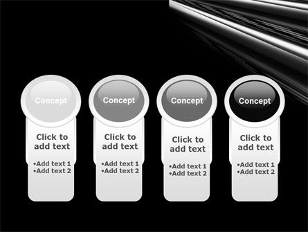 Black Steel PowerPoint Template Slide 5