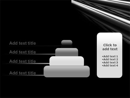 Black Steel PowerPoint Template Slide 8