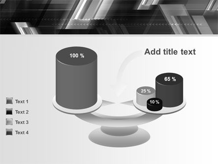 Gray Arrows PowerPoint Template Slide 10