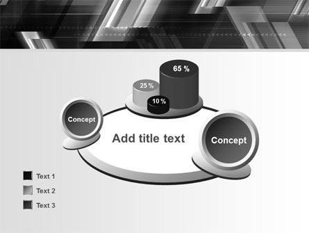 Gray Arrows PowerPoint Template Slide 16