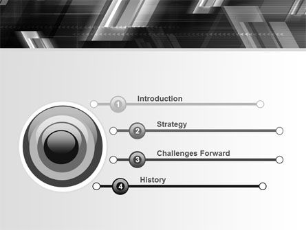 Gray Arrows PowerPoint Template, Slide 3, 06910, Business — PoweredTemplate.com