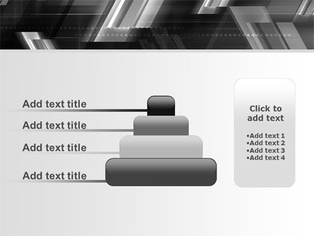 Gray Arrows PowerPoint Template Slide 8