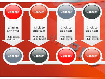 Hybrid Car PowerPoint Template Slide 18