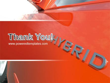 Hybrid Car PowerPoint Template Slide 20