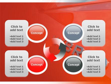 Hybrid Car PowerPoint Template Slide 9