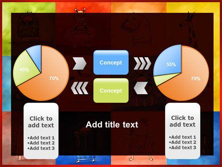 Childish Theme PowerPoint Template Slide 11