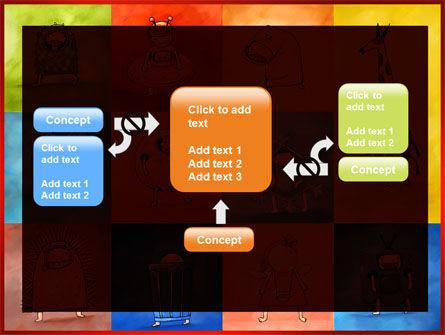 Childish Theme PowerPoint Template Slide 13