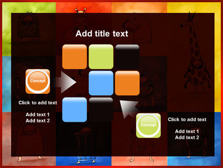 Childish Theme PowerPoint Template Slide 16