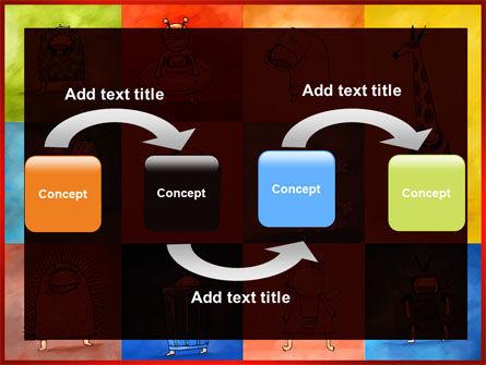 Childish Theme PowerPoint Template, Slide 4, 06913, Education & Training — PoweredTemplate.com