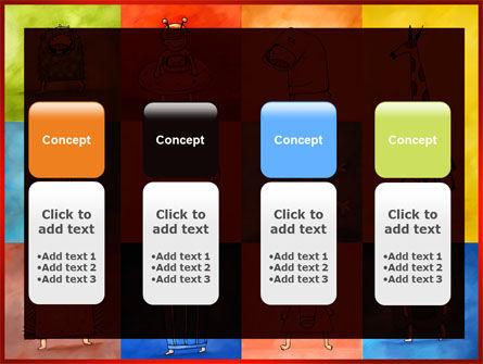 Childish Theme PowerPoint Template Slide 5