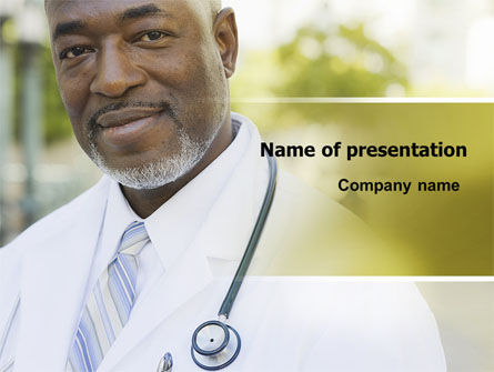 Internist PowerPoint Template, 06915, People — PoweredTemplate.com
