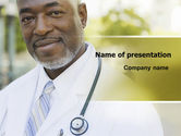 People: Internist PowerPoint Template #06915