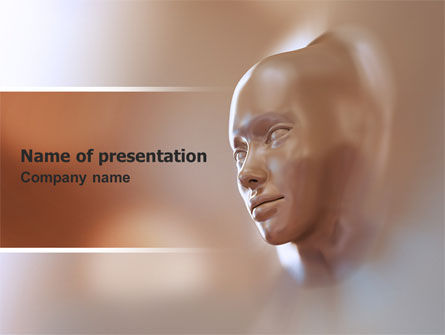 Face Skin PowerPoint Template, 06917, Careers/Industry — PoweredTemplate.com