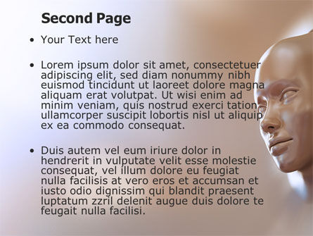 Face Skin PowerPoint Template Slide 2