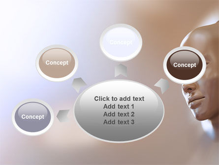 Face Skin PowerPoint Template Slide 7