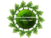 Nature & Environment: Green World Free PowerPoint Template #06918