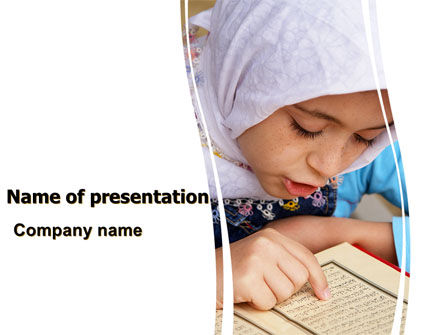 Women's Education In Maghreb PowerPoint Template