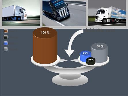 Trailer Trucks PowerPoint Template Slide 10