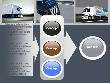 Trailer Trucks PowerPoint Template Slide 11
