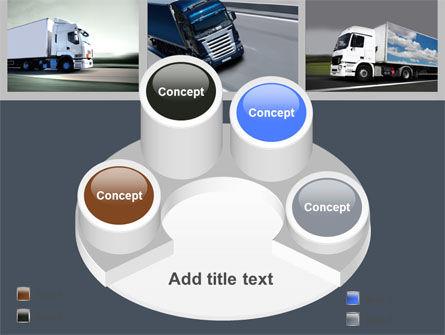 Trailer Trucks PowerPoint Template Slide 12
