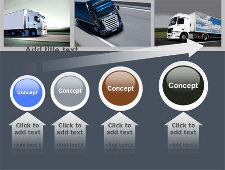 Trailer Trucks PowerPoint Template Slide 13