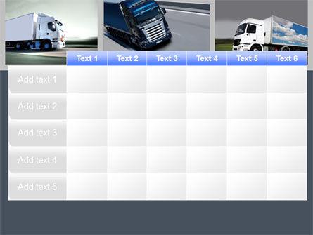 Trailer Trucks PowerPoint Template Slide 15