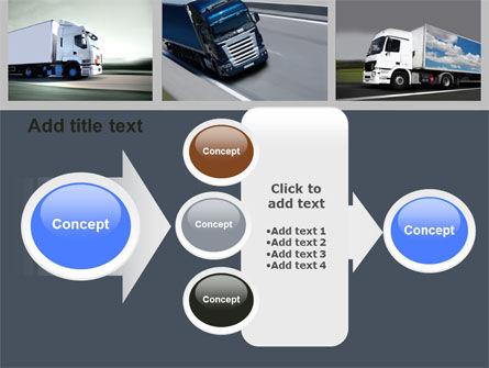 Trailer Trucks PowerPoint Template Slide 17