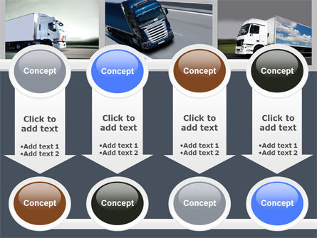 Trailer Trucks PowerPoint Template Slide 18
