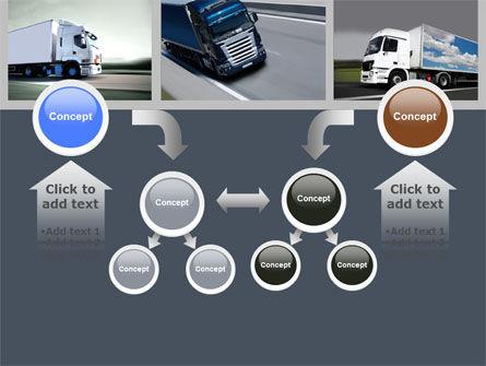 Trailer Trucks PowerPoint Template Slide 19